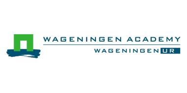 Hier staat het logo van Wageningen University voor de cursus Gut health pigs and poultry