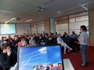Foto Studentendag Pluimveehouderij oktober 2017 bij de GD in Deventer